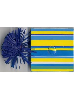 DECORATIVE TAPE MEASURE-BLUE STRIPE
